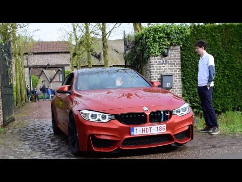 BMW M4 W/ M Performance Exhaust VS Stock Exhaust - LOUD SOUNDS
