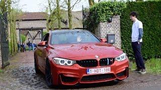 BMW M4 W/ M Performance Exhaust VS Stock Exhaust - LOUD SOUNDS
