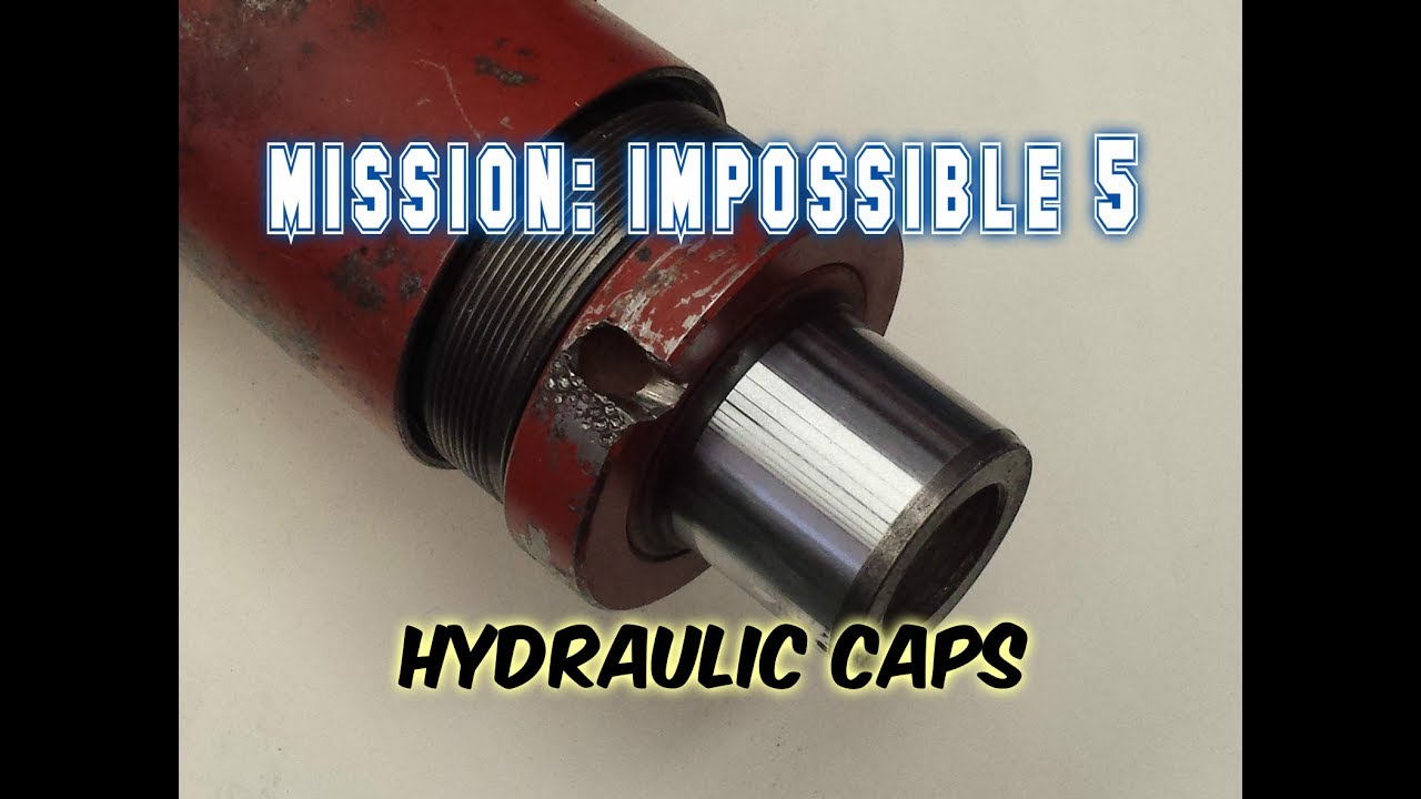 How to Remove Hydraulic Cylinder caps 5 techniques