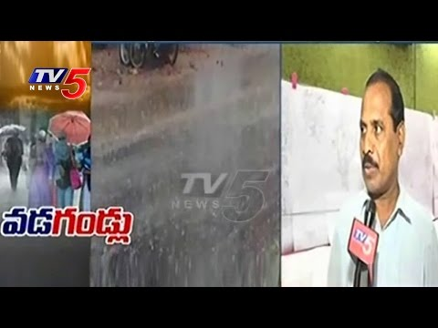 Hail Stone  Rains In Telugu States | Weather Department Officer Raja Rao Face To Face | TV5 News