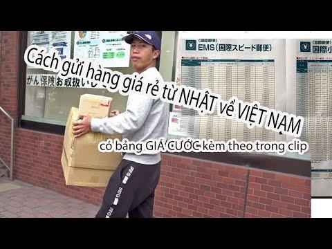 Cuộc Sống Nhật Bản - Cách Gửi Hàng Giá Cước Rẻ Từ Nhật Về Việt Nam