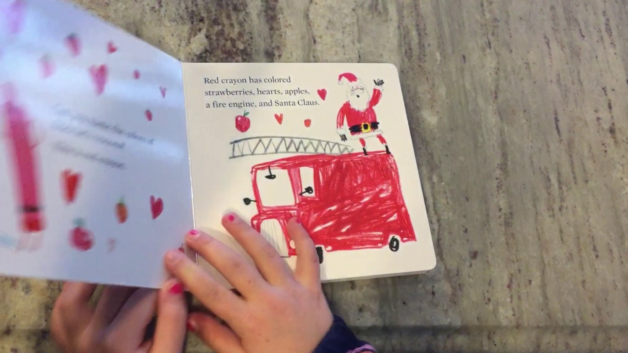The Crayons Book Of Colors By Drew Daywalt And Oliver Jeffers Youtube