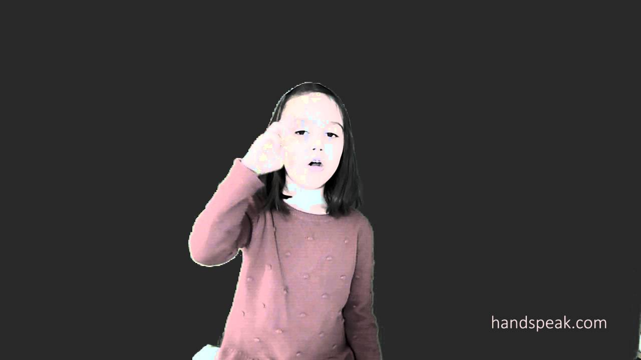 A to Z in ASL by kid - YouTube