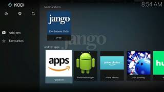 How To Install | Ad Free Internet Radio | Jango on Kodi 17
