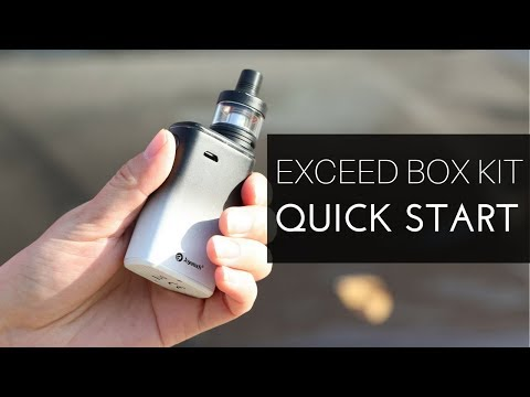Joyetech Exceed BOX with Exceed D22C Dark Orange