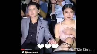 James Reid Attempts to hold Nadine's hand inside the cinemaHD