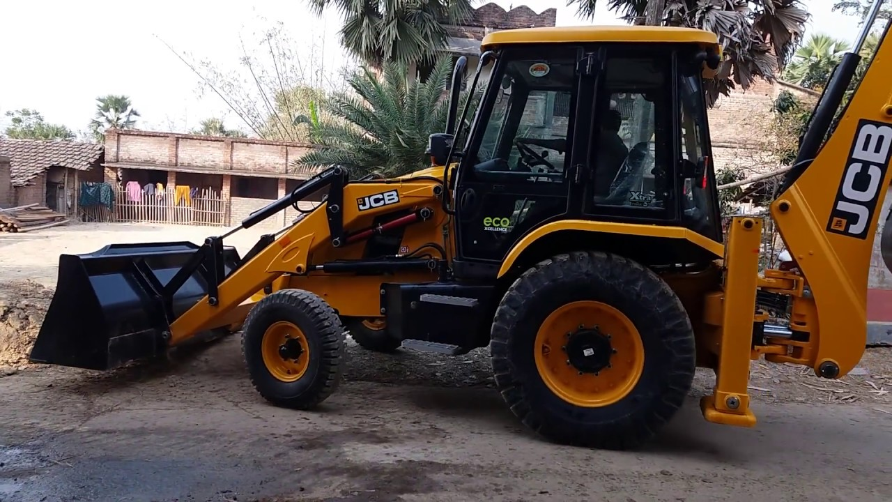 new jcb 3dx xtra eco xcellance first work in field