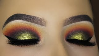 Sunset Smokey Eyes Tutorial!