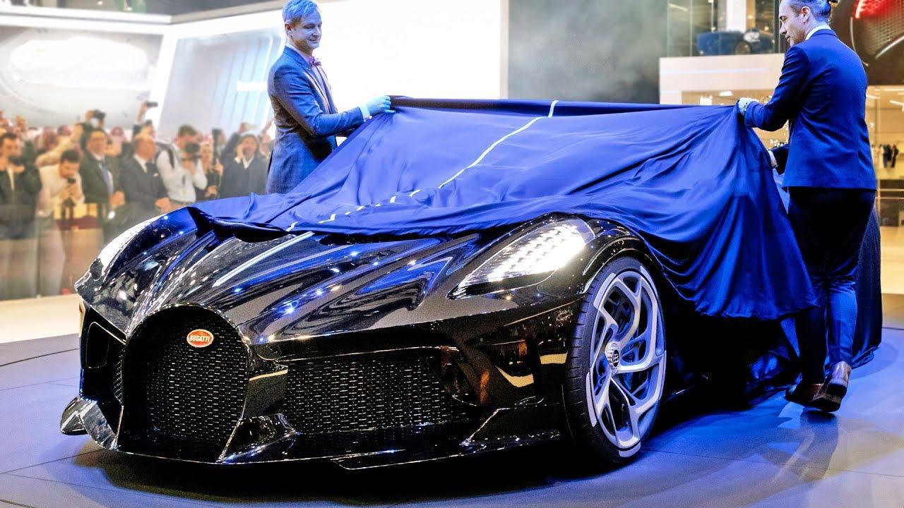 Most Expensive Car In The World >> $15M Bugatti 'La Voiture Noire' – The Most Expensive Car of All Time - YouTube
