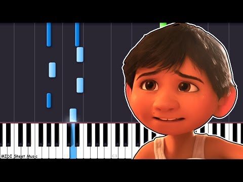 Coco - Remember Me (Recuerdame) Piano Tutorial