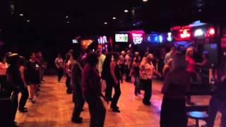 Line-dancing Footloose at RoundUp