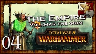 [4] VOLKMAR VS MANFRED - Total War: Warhammer (The Grim and the Grave) Empire Campaign Walkthrough
