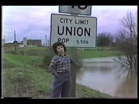 Franklin County flood, December 1982, by Ken Allen