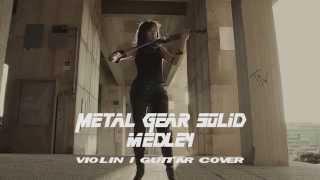 Video Metal Gear Solid theme Medley - guitar violin cover download MP3, 3GP, MP4, WEBM, AVI, FLV September 2017