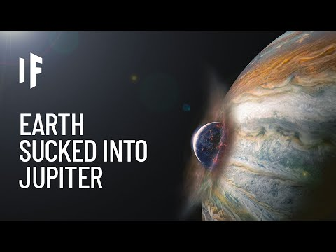 What If Jupiter Swallowed Earth?