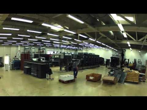 Demontage CD102 bei Artpress VVA