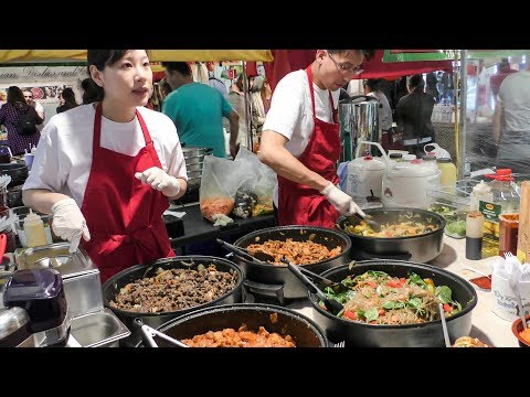 Korean Rice Bowl  bibimbap  Seen and Tasted in Brick Lane. London Street Food