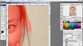 Смена фона на фотографии(видео урок фотошоп. смена заднего фона на фотографии., 2013-12-08T14:03:24.000Z)