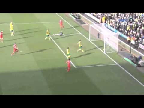 Norwich City 4-5 Liverpool 01/23/2016 All Goals