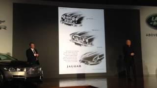 Jaguar F-Pace; Grace, Space, Pace Ian Callum at NAIAS on Driving the Nation