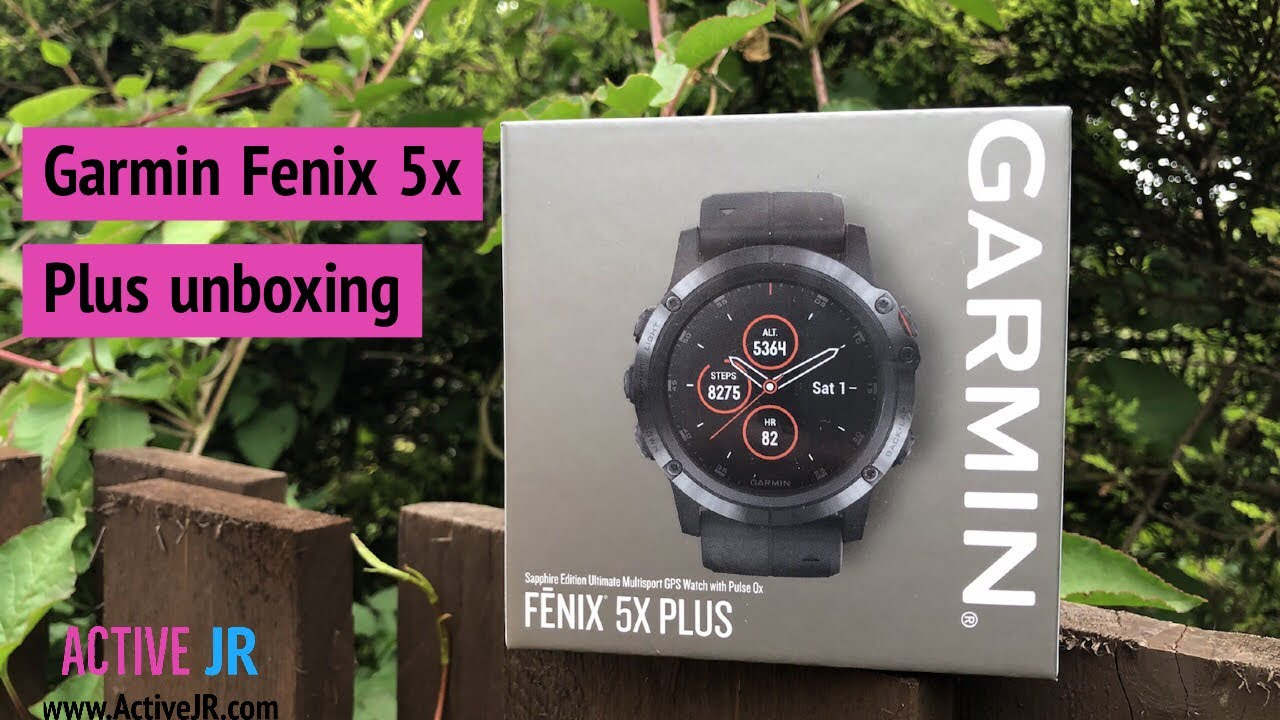 Garmin Fenix 5x Plus Unboxing Design Differences Fenix 5x Vs Fenix 5x Plus