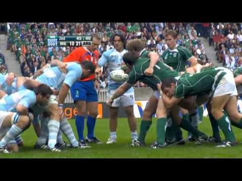 Rugby 2007. Pool D. Ireland V Argentina