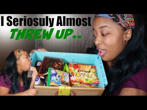 Trying WEIRD Snacks | I ALMOST THREW UP | J-LIST BOX
