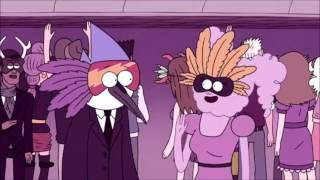 """Regular Show - Rigby Stops """"Mordecai"""" For Kissing The Girl/Mordecai and CJ Confront Each Other"""
