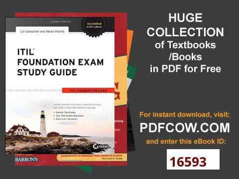 Guide study pdf exam foundation itil