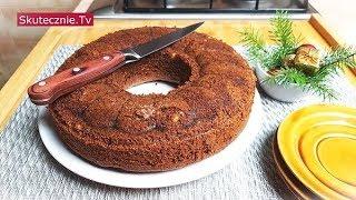 Ciasto kawowo-korzenne z miodem i orzechami :: Skutecznie.Tv