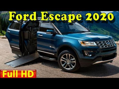 Ford Escape 2020 | New 2020 Ford Escape Redesign Review - Interior Exterior