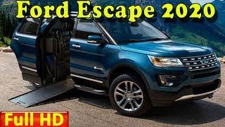 Ford Escape 2020 | New 2020 Ford Escape Redesign Review - Interior Exterior