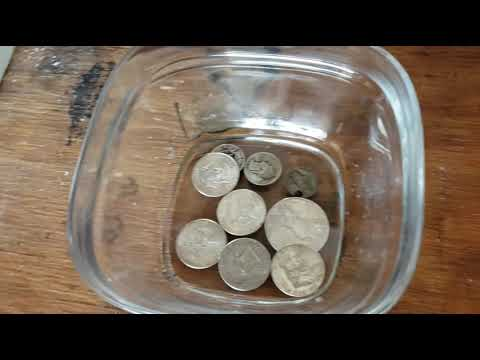 How to properly clean your coins!