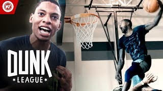 Dunk League East AUDITIONS! | $50,000 Dunk Contest! Video