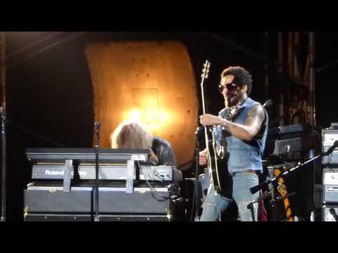 """Always on the Run & Drum & Trumpet Solo"" Lenny Kravitz@Mann Center Philadelphia 8/30/15"