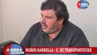 RUBEN GARDELLA   CAMARA DE TRANSPORTISTAS   EXAMENES PSICOFISICOS PARA CHOFERES EN NUESTRA COMUNIDAD