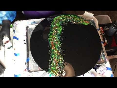 Resin Geode Painting