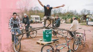 Karussell aus Fahrrädern bauen   Anleitung Kliemannsland