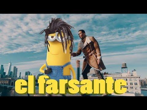 MINIONS sing EL FARSANTE by ozuna [official cartoon video]