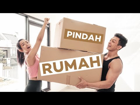 VLOG 5 : AKHIRNYA KITA PINDAH KERUMAH BARU !!!