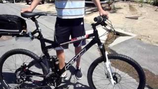 Electric Mountain Bike High Torque, High Speed 2500W XC-1 Lithium Electric Bike 40 MPH!