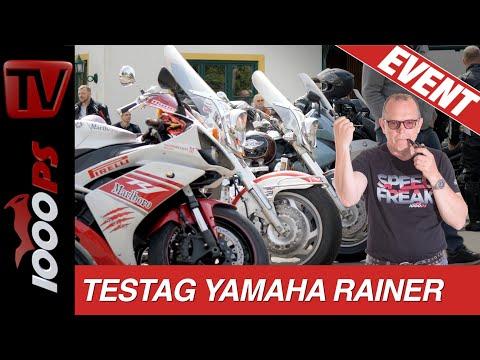Yamaha total – Testtag auf der Dopplerhütte