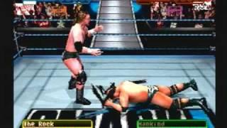WWF Smackdown! Triple H vs The Rock