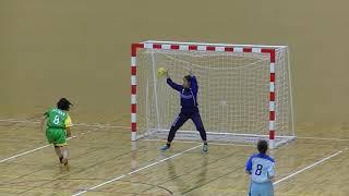 20191214福岡県高校新人ハンドボール(女子)2回戦 西南学院vs宗像(前半)