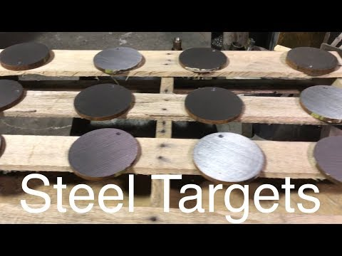 Made My Own Steel Targets