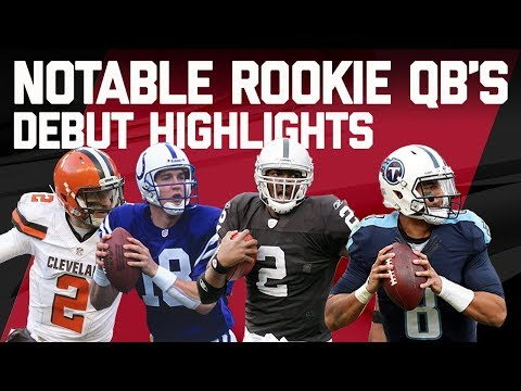 Best & Worst Plays from Notable Rookie Quarterback
