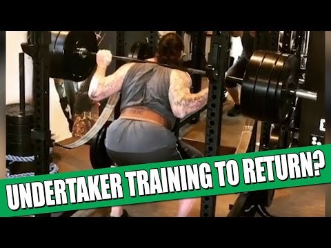Is The Undertaker Training For A Wrestlemania Return!?