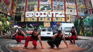 5 Crew Dynasty at 5 Pointz (Crazy Legz - H.I.S.D. ft. Space Bunny Jefferson)