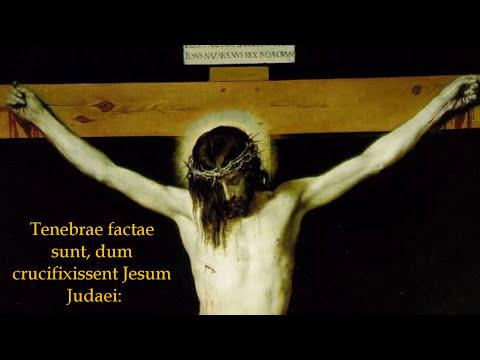 Tenebrae Factae Sunt - Good Friday Gregorian Chant Matins