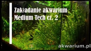 Seting up medium tech aquarium part 2  25liters